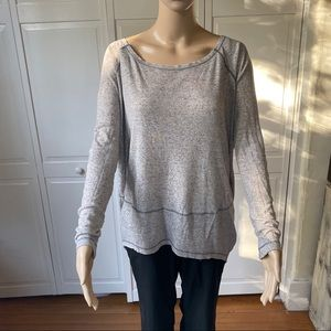 Free People Awesome oversized Top Sz MD